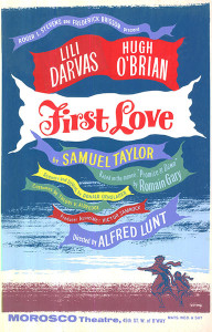 """First Love"" poster"