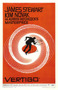 """Vertigo"" movie poster"